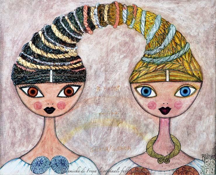 "Big eyes: l'arte de ""Le amiche di Freya"""