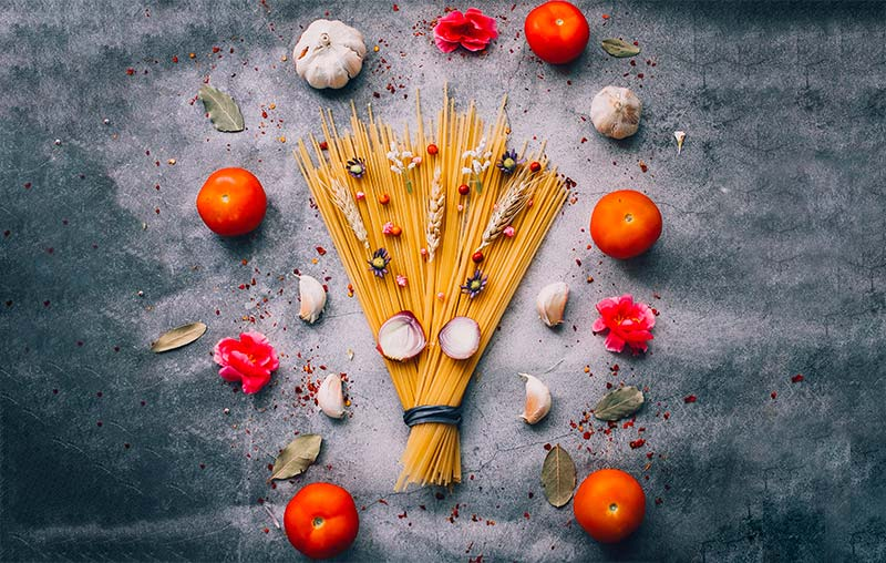 I cinque sensi e più della cucina mediterranea
