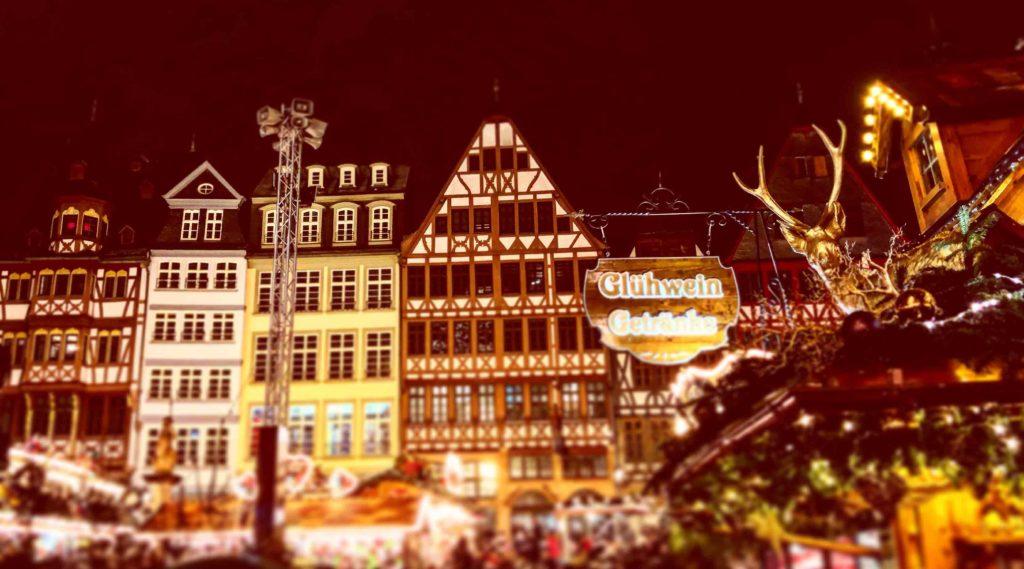 Francoforte sul Meno viaggiare a Natale mercatini di Natale