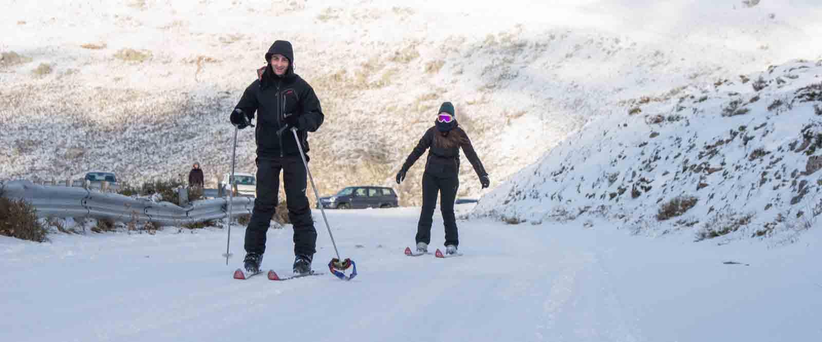La neve in Sardegna fa il pieno di turisti