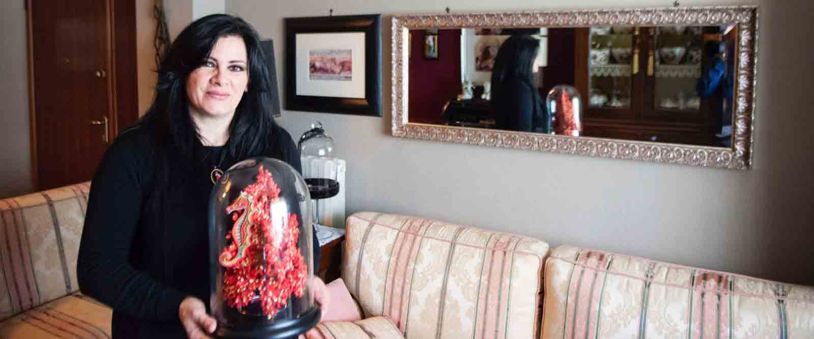 Anna Gardu: il ricamo dei fichi, nuova scommessa