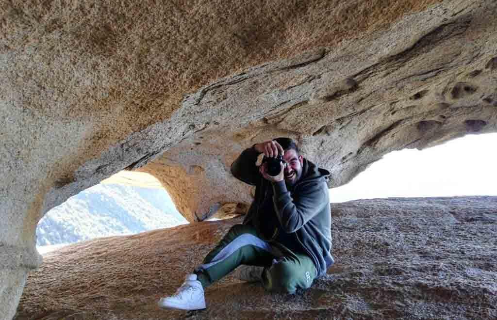 Mattia Melis, fotografo docente del corso di fotografia a Desulo