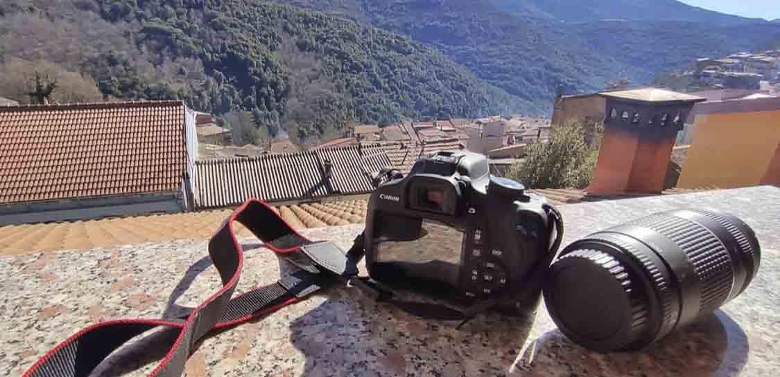 Corso di fotografia a Desulo con Mattia Melis