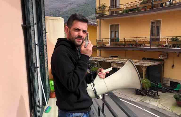 Antonello Onnis, banditore a Desulo