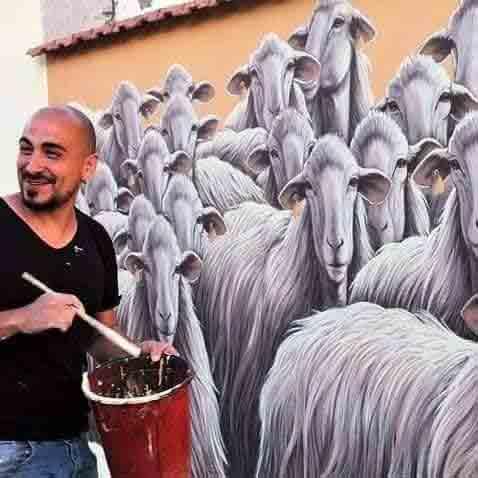 Mauro Patta muralista